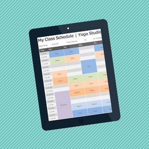 Kursplan In Excel Erstellen Mit Kostenloser Vorlage Appointman