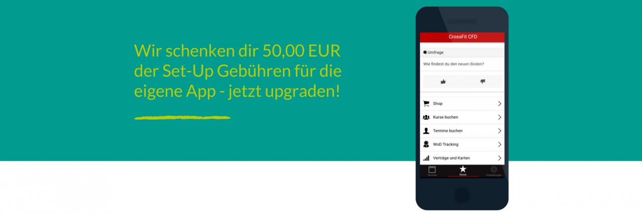 Aktion: Auf Premium upgraden und 50€ geschenkt bekommen!